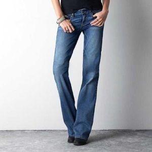 American eagle favorite boyfriend jeans 12 blue